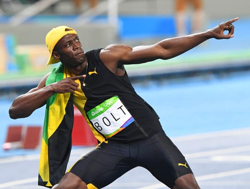 Illustration for article titled Usain Bolt Finishes 100-Meter Dash Victory Celebration In Personal Best 3 Hours, 42 Minutes