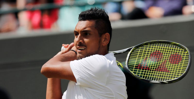 Illustration for article titled Let Nick Kyrgios Go Pee, Man