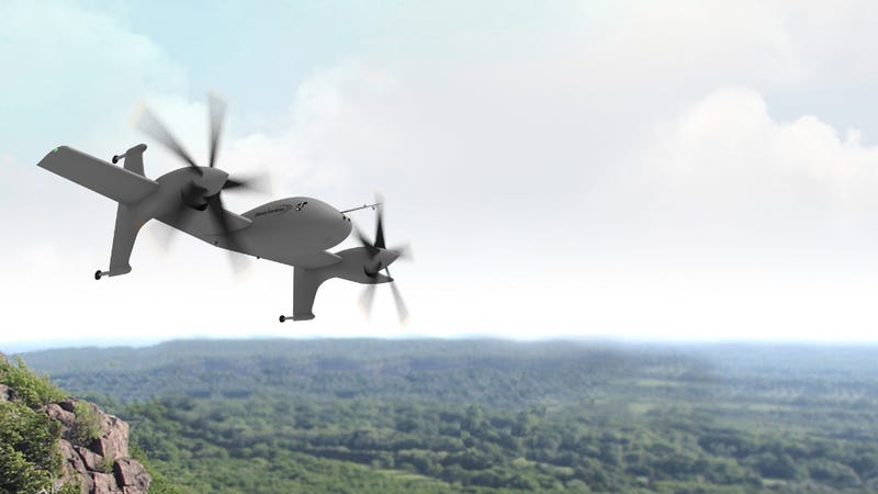 Illustration for article titled This Is How DARPA's Robotic VTOL X-Planes Will Dominate The Sky