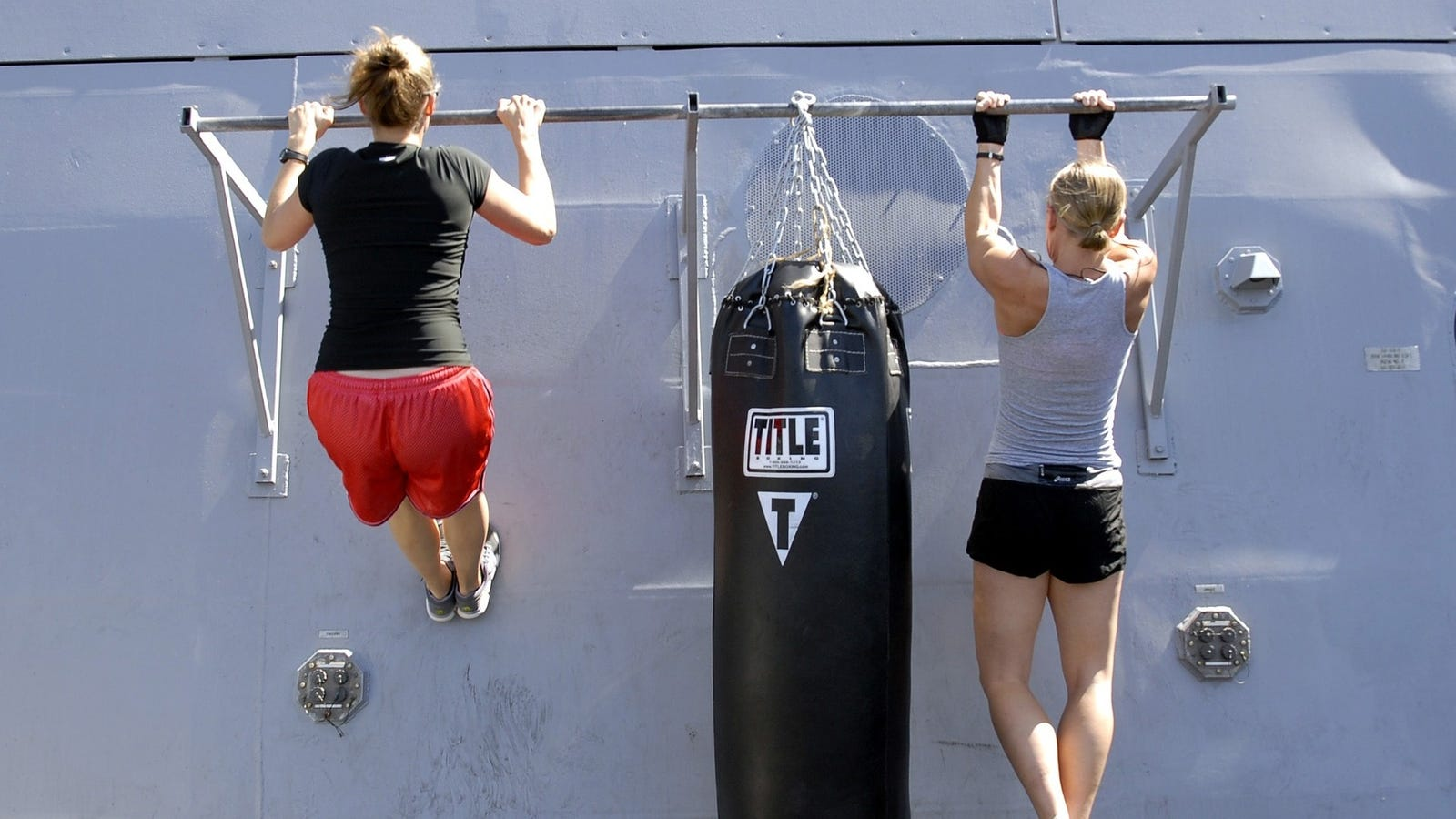 January's Fitness Challenge: Grab Onto That Pull-Up Bar