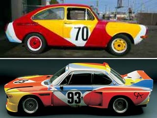 Illustration for article titled How About A Volkswagen Fastback With Alexander Calder 1975 BMW 3.0 CSL Paint?