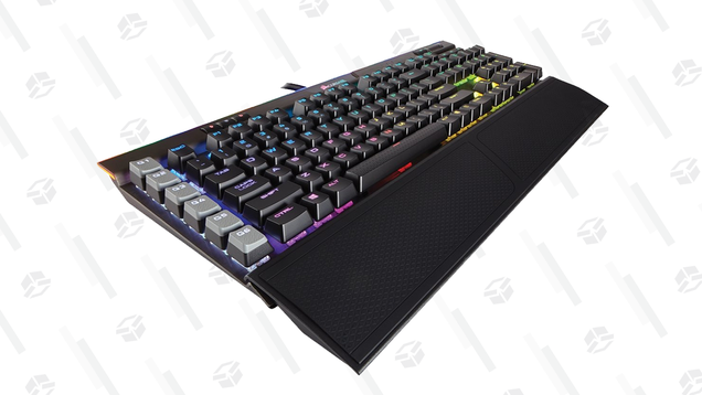 Get This Corsair Mechanical Keyboard for $130 Because Its Color Is  Gunmetal  and That s Cool