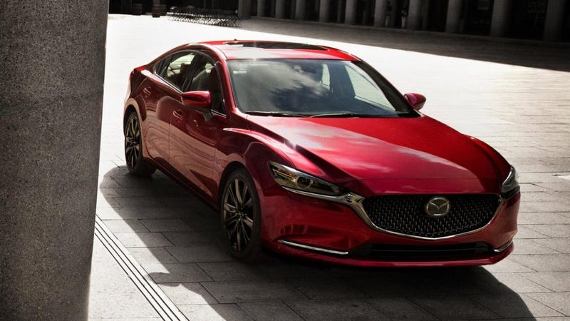 Illustration for article titled The Turbocharged 2018 Mazda6 Will Start At $30,090
