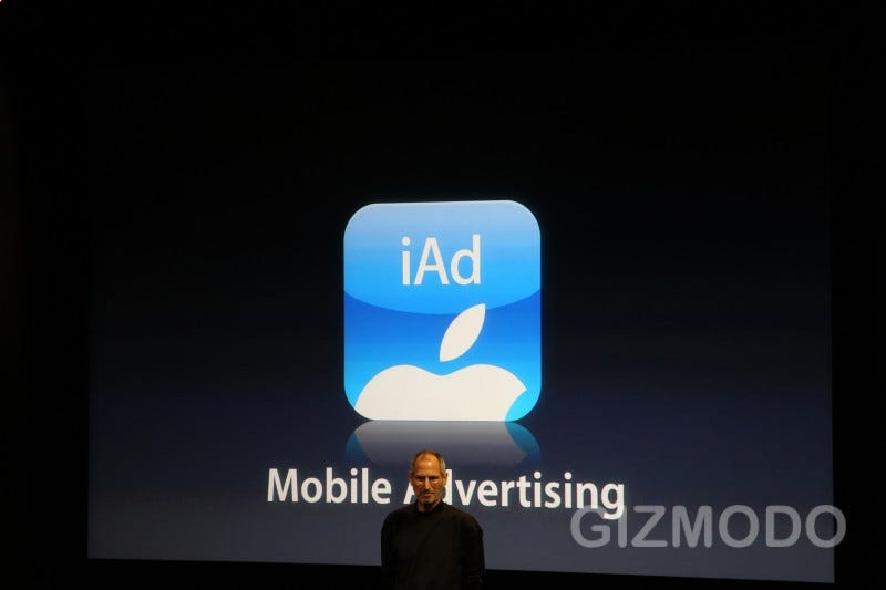 Illustration for article titled iAd: Apple's Very Own Mobile Advertising Platform