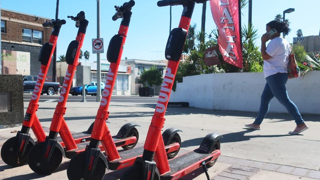 Los Angeles Has Turned Scooters Into Data-Mining Machines, According To A New Lawsuit