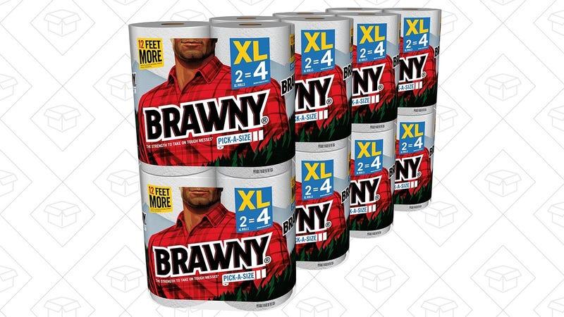 16x Brawny Pick-a-Size Paper Towel Rolls, $22