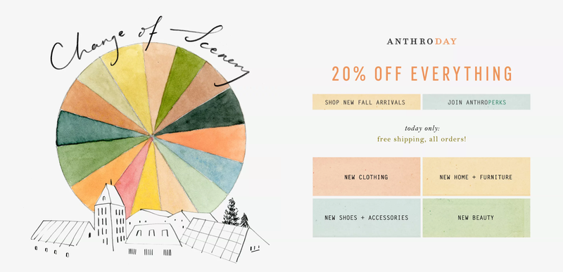 20% off everything | Anthropologie