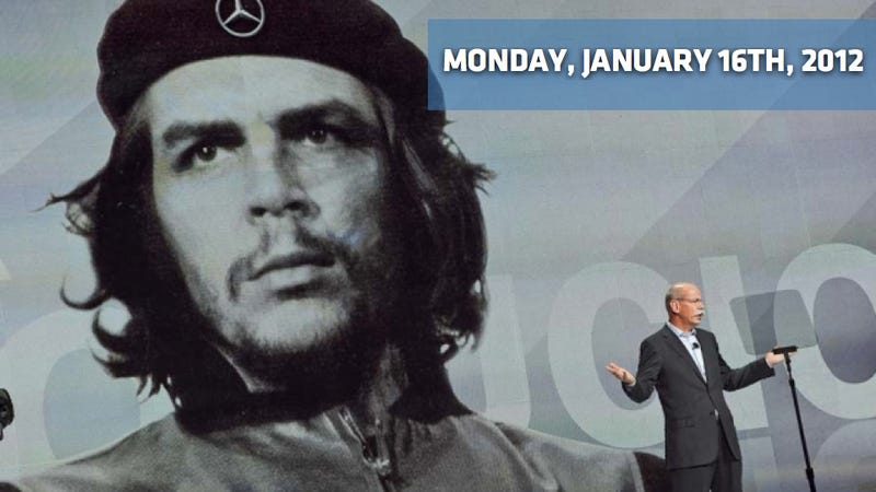 Illustration for article titled Detroit Auto Show Opening Day, Mercedes' Che Guevara CES Flap, And Ford In Ranger Danger