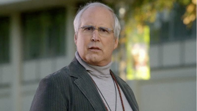 Illustration for article titled Chevy Chase said something he probably shouldn't have on the Community set... again