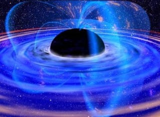 Illustration for article titled Was our universe born inside a black hole in another universe?