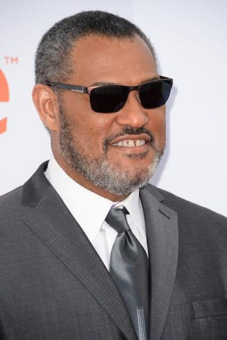 Laurence Fishburne at the 46th NAACP Image Awards at the Pasadena Civic Auditorium in California Feb. 6, 2015ROBYN BECK/AFP/Getty Images