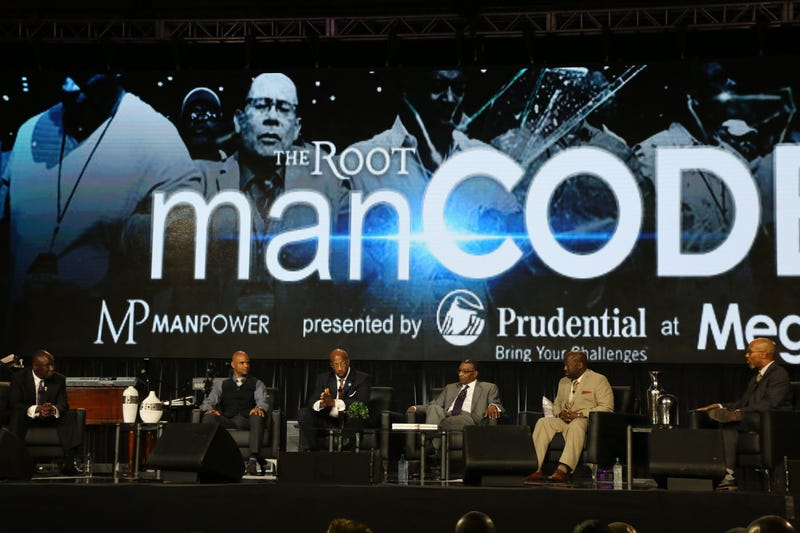 The Root manCODE on the MegaFest stage in Dallas Aug. 22, 2015Makeda Saggau-Sackey for The Root