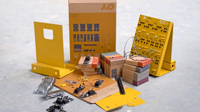 You Can Build These Analog Synthesizers Like Nintendo s Cardboard Labo Toys