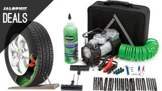 Illustration for article titled Repair A Tire for Cheap, Charge Your Phone, Save at Advance [Deals]
