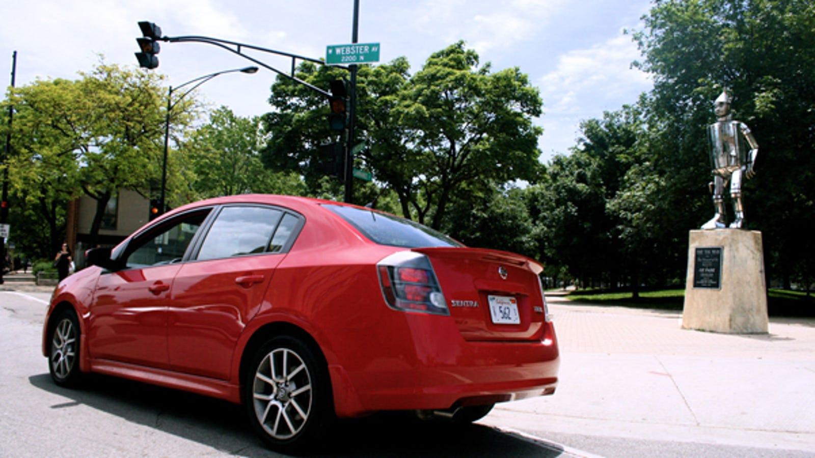 2008 Nissan Sentra SE-R Spec V, Part Three