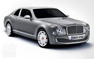 Illustration for article titled Bentley Turbo R could return by 2013