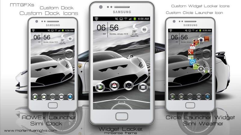 Illustration for article titled The White Ferrari Home Screen