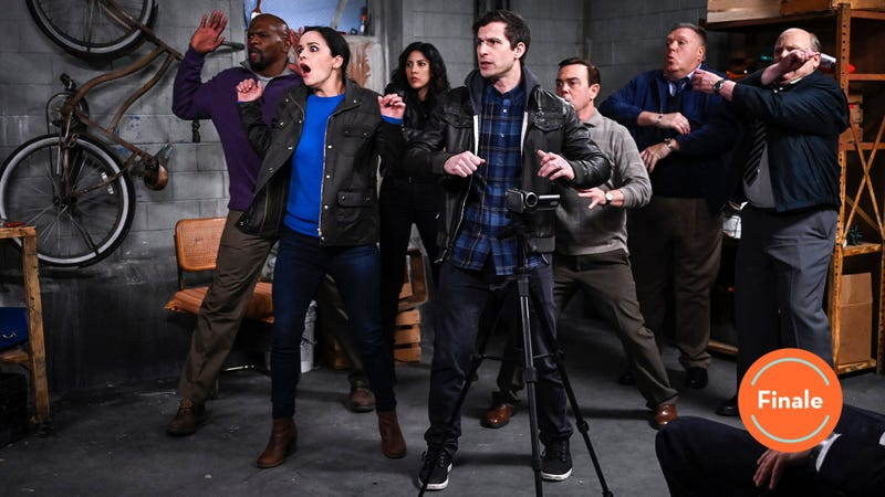 "Illustration for article titled Brooklyn Nine-Nine wraps up its sixth season with its very own ""Suicide Squad"""