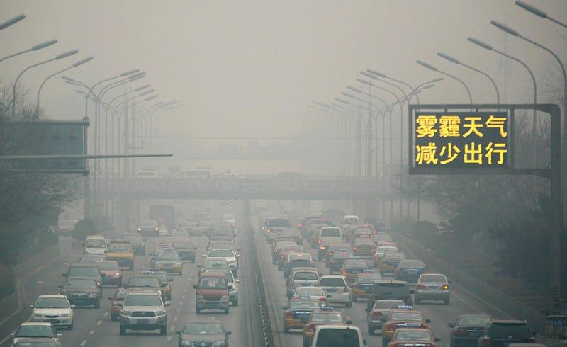 Illustration for article titled China probará a combatir la contaminación atmosférica mediante drones