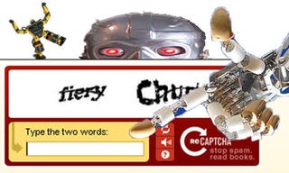 Illustration for article titled Spambots Can Now Fool Yahoo CAPTCHA Tests: Yes, Worry