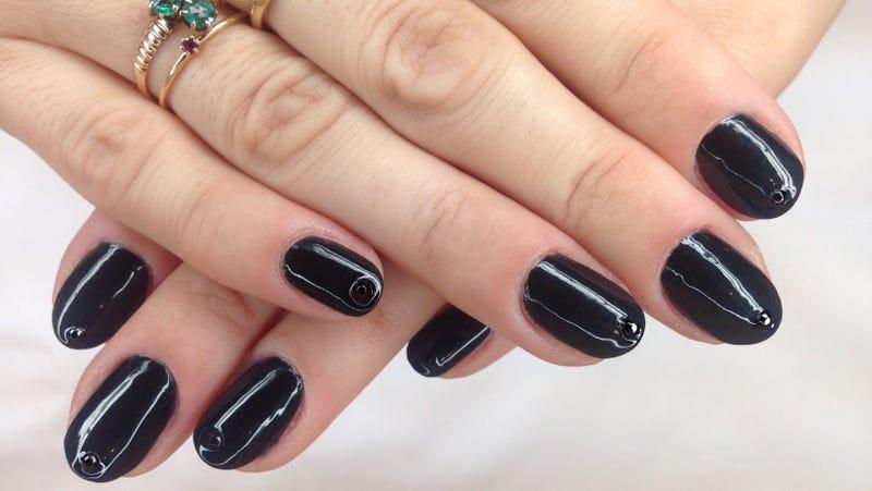 Illustration for article titled Pretty, Easy Nails: Super Subtle Bling