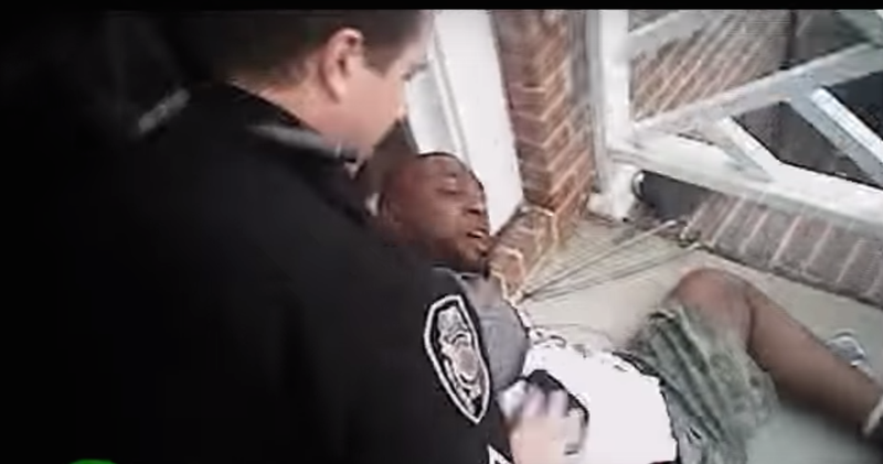 Body-camera footage showing Greensboro, N.C., Police Officer Travis Cole's violent arrest of Dejuan Yourse during a June 17, 2016, encounter.YouTube Screenshot