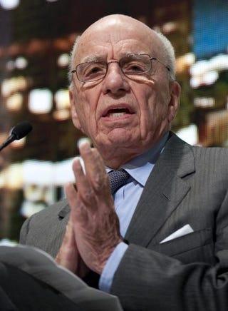 News Corp. head Rupert Murdoch