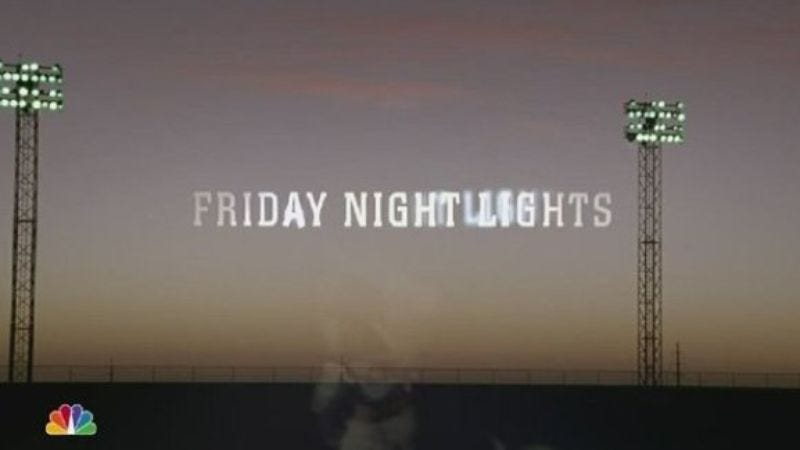 Illustration for article titled Friday Night Lights wins Program of the Year award from Television Critics Association