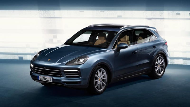 Porsche releases Cayenne teaser sketch ahead of reveal