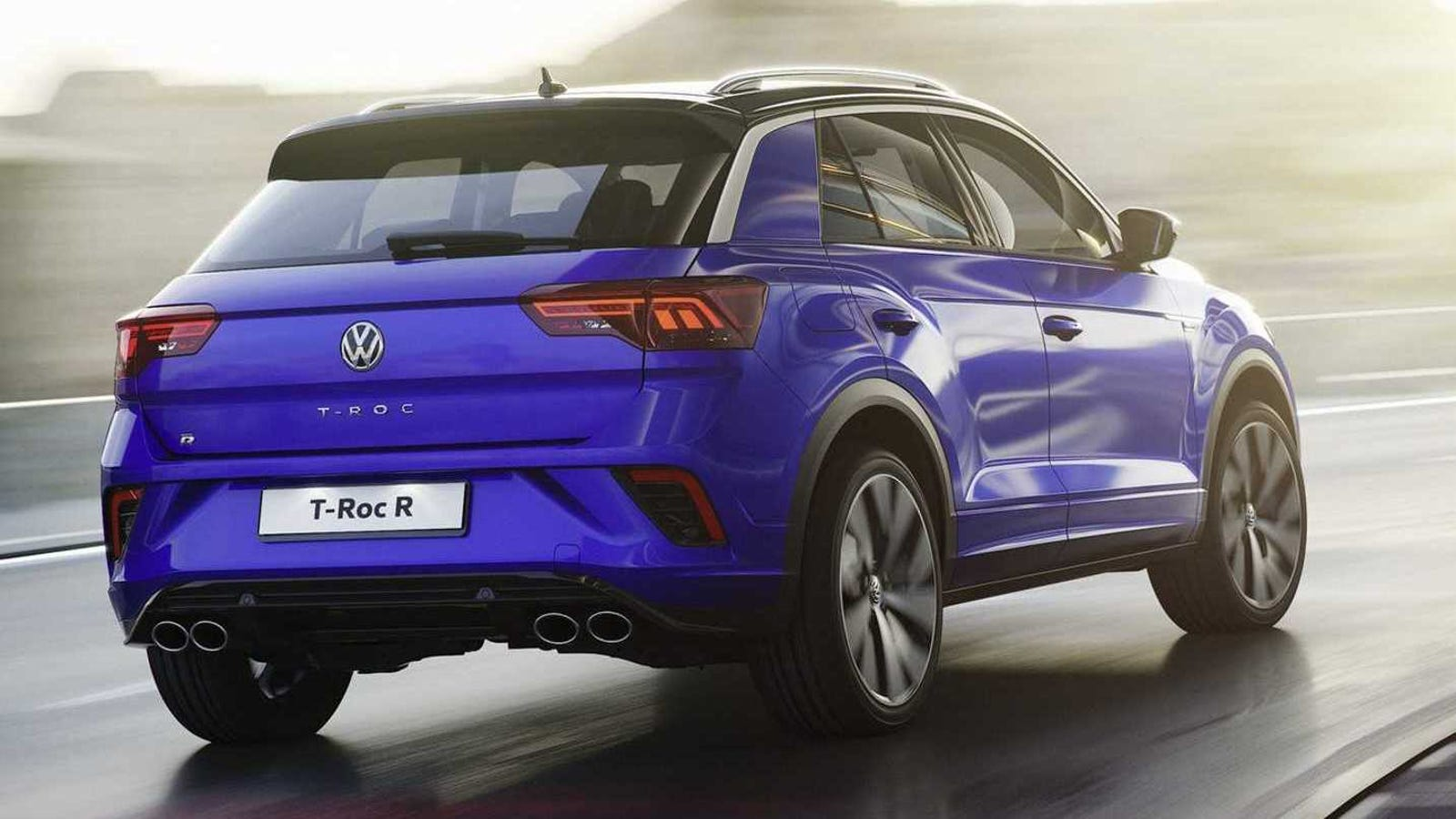the 2019 volkswagen t roc r is the big golf r with 296 hp. Black Bedroom Furniture Sets. Home Design Ideas