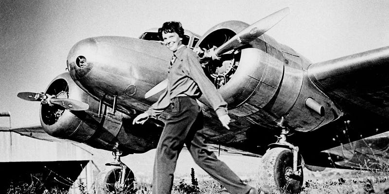 Illustration for article titled We May Have Finally Found a Piece of Amelia Earhart's Lost Plane