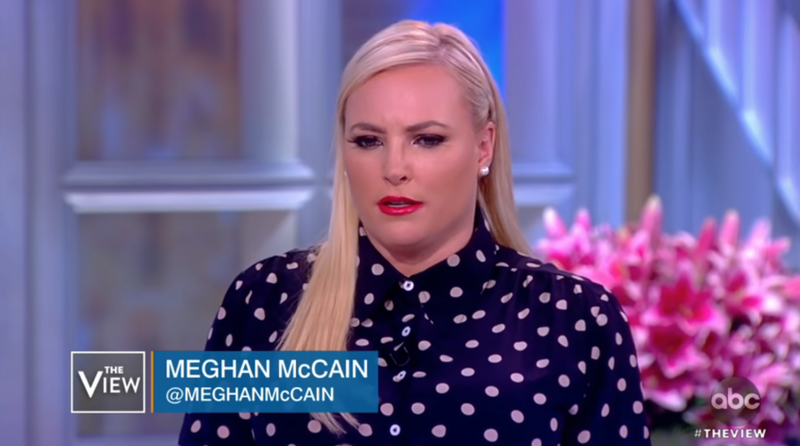 Illustration for article titled Meghan McCain Meghan McCained Again, So Whoopi Shut That Shit Up By Cutting to a Commercial
