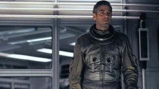 """Illustration for article titled Is this the synopsis for Alfonso Cuarón's """"Spaceman George Clooney"""" flick Gravity?"""
