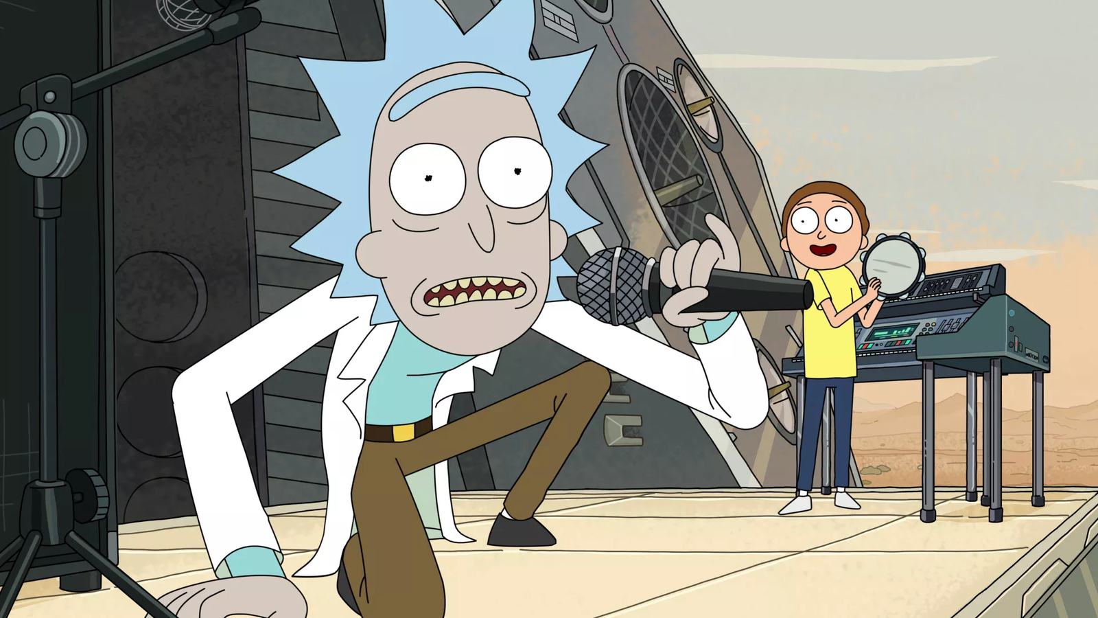 Rick and Morty Syncs Up Perfectly With Kendrick Lamar