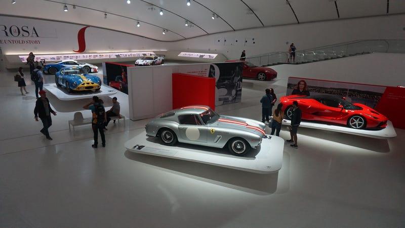 Illustration for article titled Museo Enzo Ferrari photodump