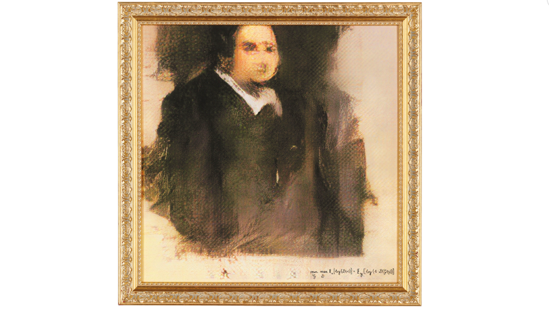 Illustration for article titled Portrait Painted by AI Sells For $432,500