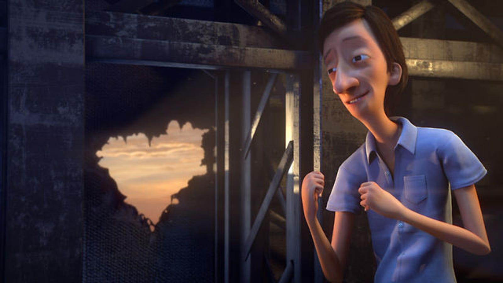 Este corto de animación sobre el amor es digno de Pixar
