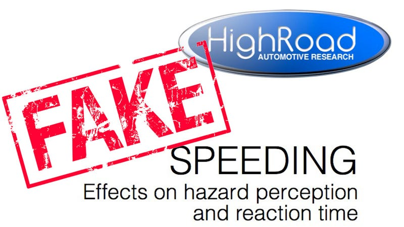 """Illustration for article titled How a fake """"speed saves lives"""" study pranked the Internet"""