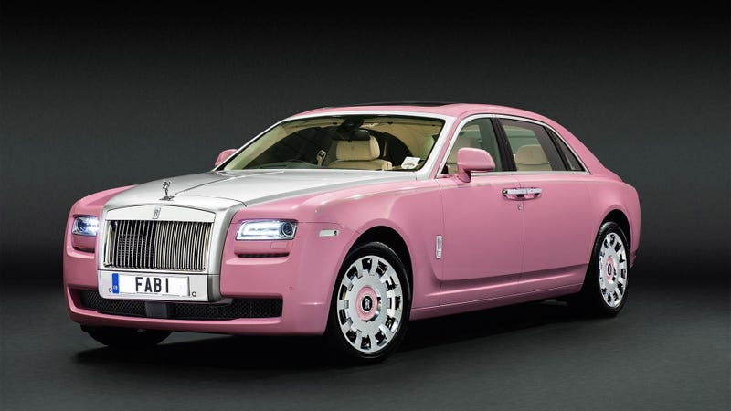 Illustration for article titled This Pink Rolls-Royce Ghost Is A Good Thing