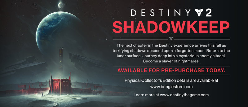 Illustration for article titled Destiny 2 Leak Reveals Shadowkeep Expansion, Set On The Moon