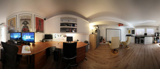 Excellent The Garage Office Largest Home Design Picture Inspirations Pitcheantrous