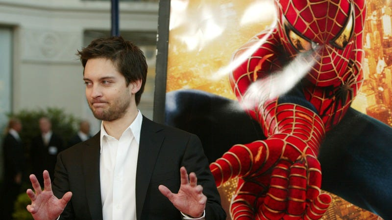 Tobey Maguire at the Spider-Man 2 Los Angeles Premiere (Photo: Chris Polk/FilmMagic/Getty Images)