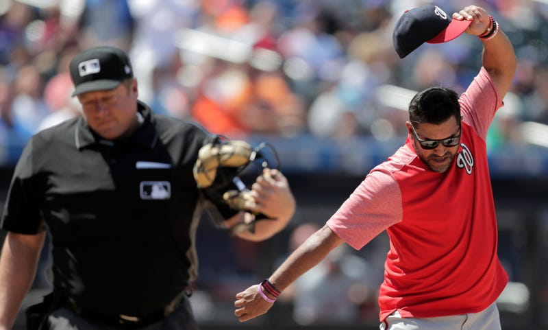Davey Martinez's Meltdown Saved Him From Watching Yet Another Nationals Late Inning Collapse