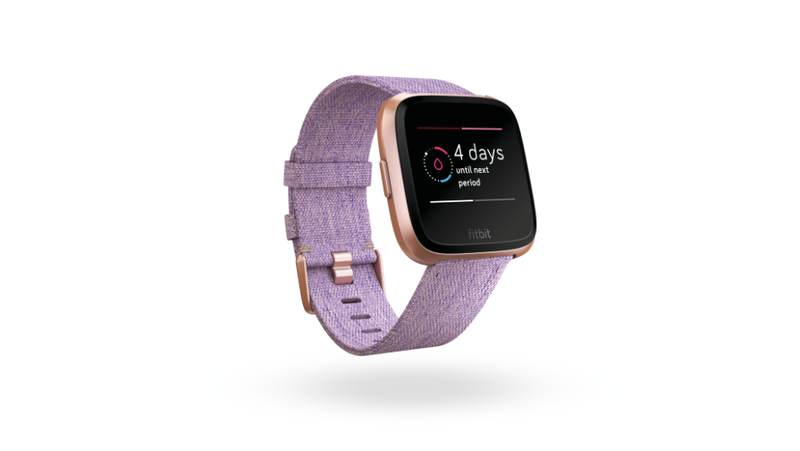 Illustration for article titled New Fitbit Feature Lets You Track Your Period With Cutesy, Pink Blood Icons