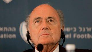 Illustration for article titled Report: FIFA President Sepp Blatter May Not Resign