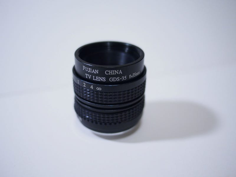 Illustration for article titled First Impressions/Review: Fujian 35mm f/1.7 C-mount
