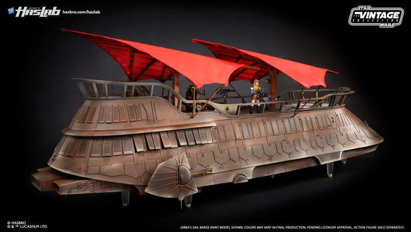 Jabba's Sail Barge is a go.