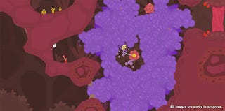 Illustration for article titled PixelJunk Shooter 2's New Fluids Include Bubbles, Bugs & Bullet Hell