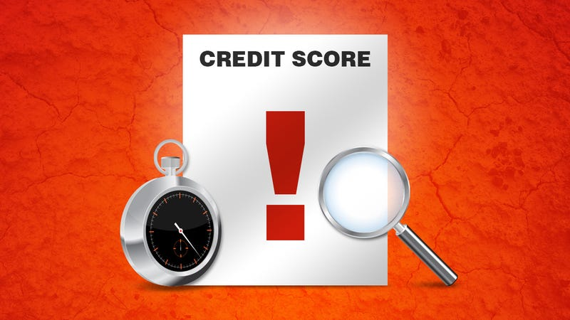 Illustration for article titled How Long Different Credit Flaws Stay on Your Report