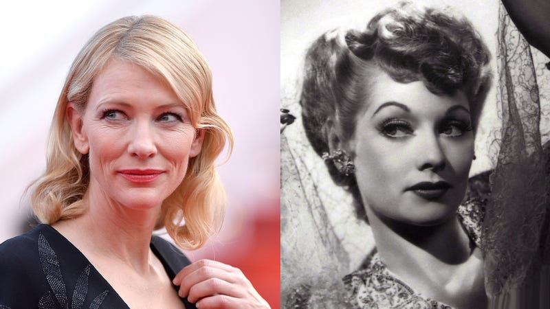 Illustration for article titled Aaron Sorkin Is Writing a Biopic About Lucille Ball Starring Cate Blanchett